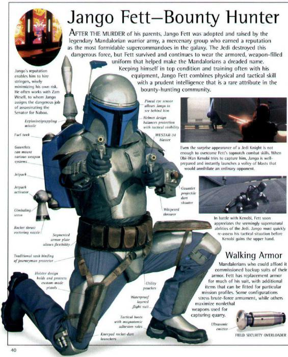 The Visual Dictionary Of Star Wars Episode Ii Attack Of The Clones Book Collect